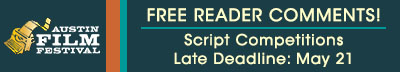 [Austin Film Festival Screenwriting Competition]